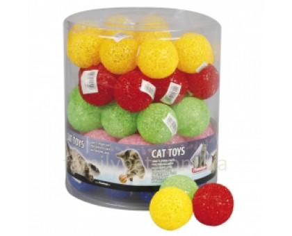Flamingo Glitter Ball Игрушка мяч для кошек латекс 5 см