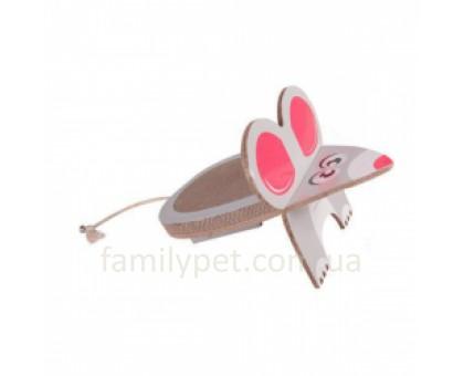 Flamingo Mouse Scratching Board Когтеточка для котов наклонная