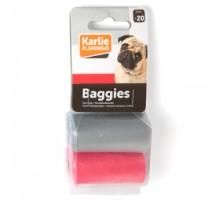 Flamingo Swifty Waste Bags Цветные пакеты для сбора фекалий собак