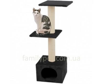 Flamingo Smaragd Black Когтеточки игровой комплекс для кошек 2 уровня