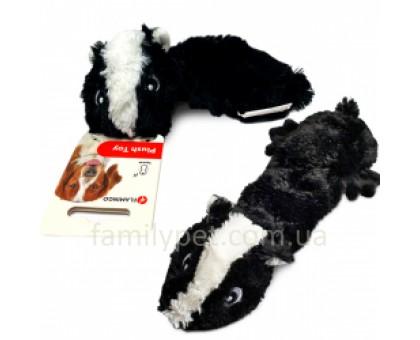 Flamingo Shaky Skunk Мягкая игрушка для собак плюшевая
