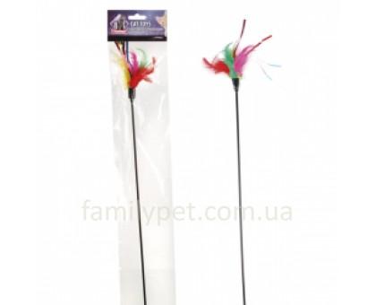 Flamingo Teaser Feathers Дразнилка с цветными перьями