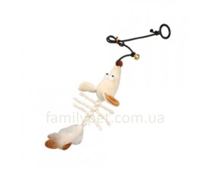 Flamingo Skeleton Mouse Игрушка для кошек с кошачьей мятой