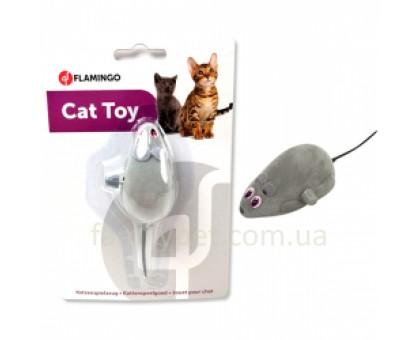 Flamingo Wind UP Mouse Заводная игрушка для кошек