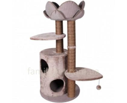 Flamingo Tree+Basket Lotus Спально - игровой комплекс для кошек