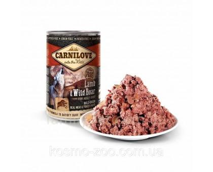 Carnilove Dog Консервы для собак с ягненком и кабаном