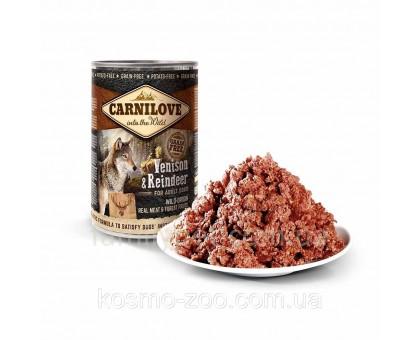 Carnilove Dog Консервы для собак с мясом северного оленя 400 г