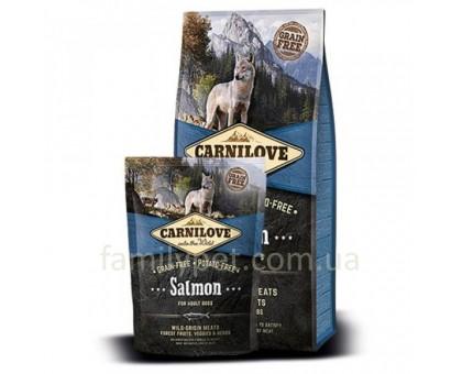 Carnilove Adult Salmon Корм для взрослых собак с лососем