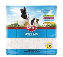 Kaytee Clean&Cozy White Клин&Кози ЧИСТО&УЮТНО БЕЛЫЙ подстилка для грызунов, целлюлоза 4.1 л