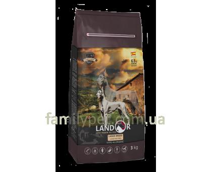 Landor (Ландор) Adult Large Breed Lamb & Rice - Сухой корм с ягненком и рисом для взрослых собак больших пород