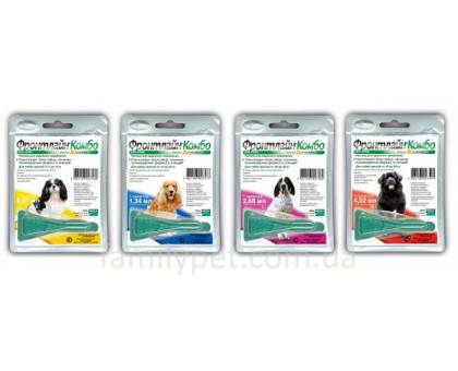 Frontline Combo (Фронтлайн Комбо) Капли для собак от паразитов