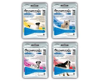 FrontLine (Фронтлайн) Spot On Капли для собак от блох и клещей
