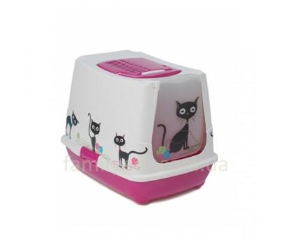Moderna Trend Cat Закрытый туалет для кошек 50х39х39 см