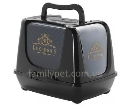 Moderna Trendy Cat Luxurious Pets Закрытый туалет для кошек c угольным фильтром и совком  50х39х37 см