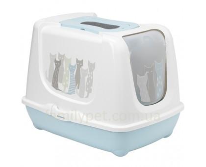 Moderna Trendy Cat Maasai Закрытый туалет для котов c угольным фильтром и совком дизайн Масаи