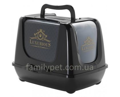 Moderna Trendy Cat Luxurious Pets Закрытый туалет для кошек c угольным фильтром и совком