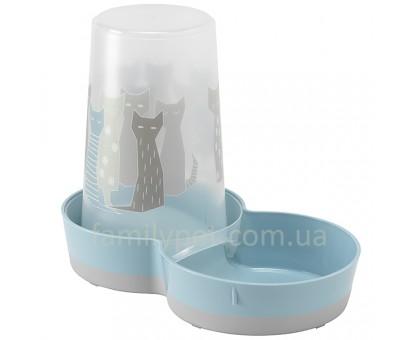 Moderna Tasty Large Maasai Автоматическая кормушка-поилка для котов и собак дизайн Масаи 1,5 л