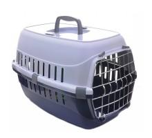 Moderna Roud Ranner Переноска для собак и кошек с металлической дверью 48,5х32,3х30,1 см