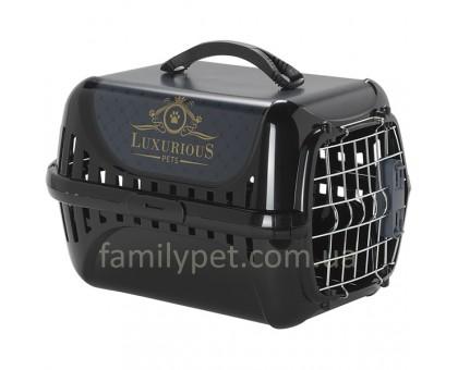 Moderna Trendy Runner Luxurious Pets Переноска для кошек c металлической дверцей и замком  49,4Х32,2Х30,4 см