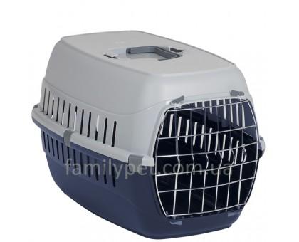 Moderna Roud Ranner Переноска для собак с металлической дверью 58х35х37 см