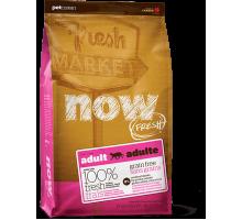 NOW Fresh Grain Free Adult Cat Recipe Беззерновой для взрослых кошек с индейкой, уткой и лососем