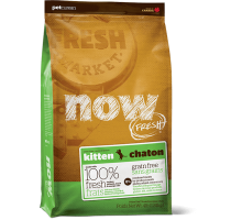 NOW Fresh Grain Free Kitten Recipe Беззерновой для котят с индейкой, уткой и лососем