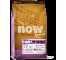 NOW Fresh Grain Free Senior Cat Recipe Контроль веса - беззерновой для кошек с индейкой, уткой и лососем