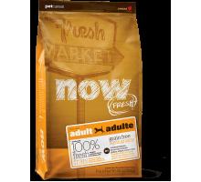 NOW Fresh Adult Recipe Grain Free Беззерновой для взрослых собак с индейкой, уткой и лососем