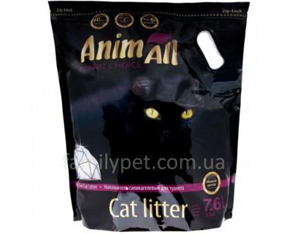 AnimAll Premium Наполнитель для кошачьего туалета Фиолетовый аметист
