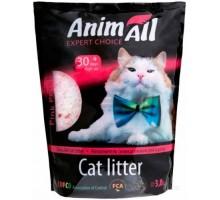 AnimAll Наполнитель для кошачьего туалета Розовые лепестки