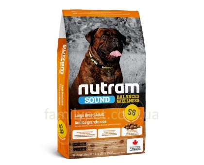 NUTRAM Sound Balanced Wellness Large Breed Adult Dog Холистик корм для собак крупных пород