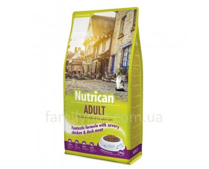 Nutrican Adult Cat Сухой корм для взрослых кошек