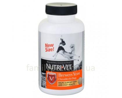 Nutri-Vet Brewers Yeast Витаминный комплекс для шерсти собак