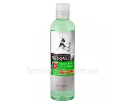 Nutri-Vet Breath Fresh Жидкость для собак от зубного налета и запаха из пасти