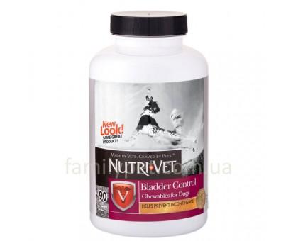 Nutri-Vet Bladder Control Добавка для собак от недержания мочи