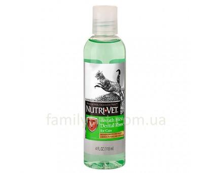 Nutri-Vet Breath Fresh Жидкость для кошек от зубного налета и запаха из пасти