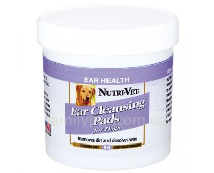 Nutri-Vet Dog Ear Wipe Влажные салфетки для гигиены ушей собак