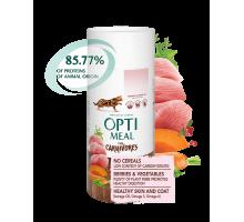 OPTIMEAL Беззерновой сухой корм для котов с индейкой и овощами