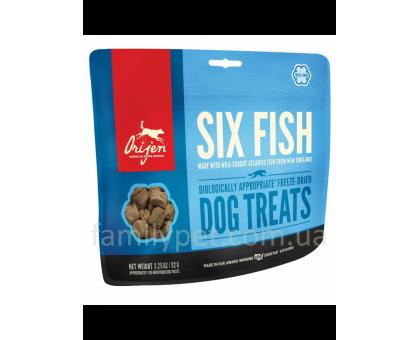 ORIJEN 6 Fish Dog Лакомство для собак 6 видов рыб
