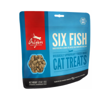 ORIJEN 6 FISH CAT&KITTEN Лакомство для кошек 6 видов рыб