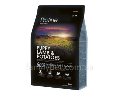 Profine Puppy Lamb Сухой корм для щенков мелких и средних пород с ягненком и картошкой