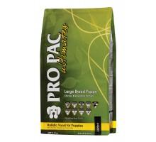 PRO PAC DOG Large Breed Puppy Chicken & Brown Rice Formula Сухой корм для щенков крупных пород с курицей и рисом