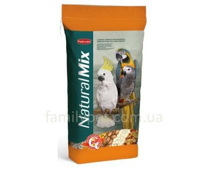 Padovan NaturalMix pappagalli Корм для больших попугаев 18кг