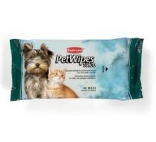 Padovan Pet Wipes Talco Очищающие влажные салфетки с ароматом талька 40 шт