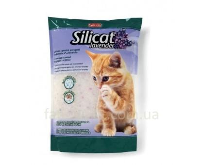 Padovan Silicat Lavender Гигиенический наполнитель для кошачьего туалета с ароматом лаванды 2,2 кг