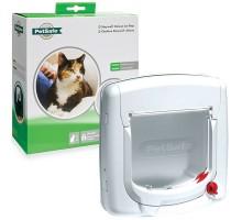 Staywell Дверцы для котов с механическим замком белый 300 см