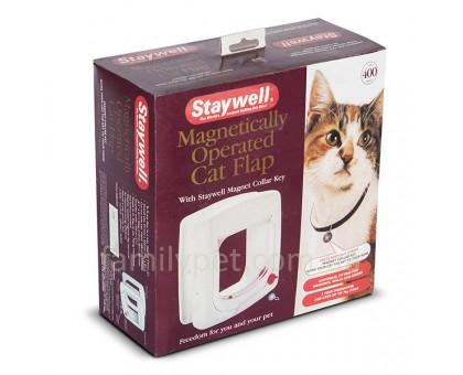 PetSafe Staywell Дверцы для котов до 7 кг с программным ключом  белый