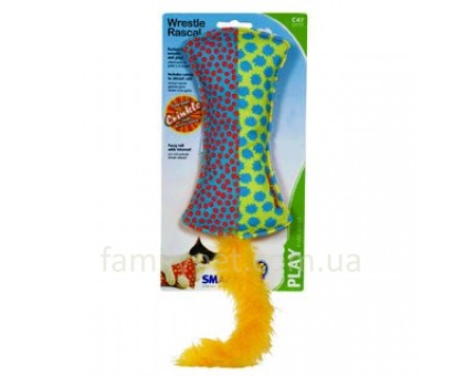 Petstages Игрушка для котов Подушка с хвостом