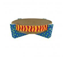 Дряпалка-лежанка для кошек круглая Scratch Snuggle & Rest Tan