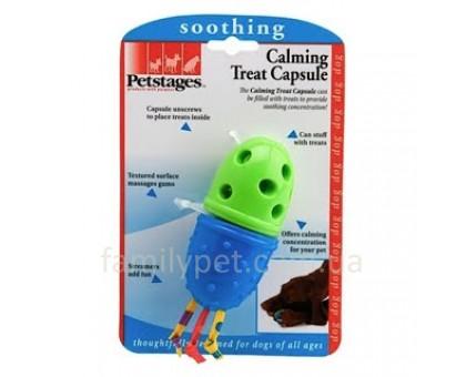 Petstages Игрушка для собак Капсула для лакомств